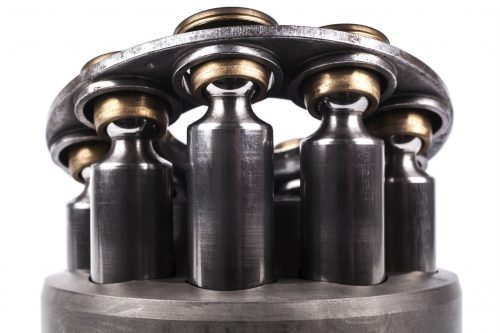 Pistons - Front Closeup